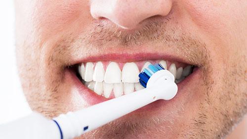 Зубная паста для электрической зубной щетки