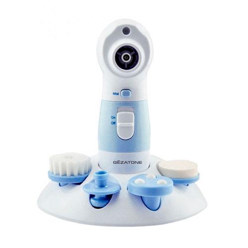 Аппарат для вакуумного очищения пор кожи gezatone 4 в 1 super wet cleaner pro naipo массажер для спины